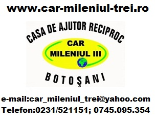 car mileniul